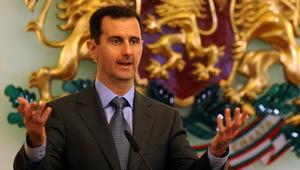 الأسد لروحاني: العدوان جاء بعد فقدان القوى الاستعمارية لسيطرتها