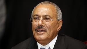 """صالح يدعو العاهل السعودي للحوار حول رئيس جديد ويشكر إيران على """"تعاطفها"""""""
