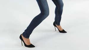 بنطال جينز ضيق يُفقِد امرأة القدرة على المشي