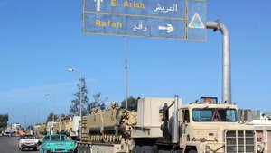 مصر: إصابة 10 عناصر للأمن في انفجار عبوة ناسفة بسيناء
