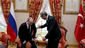 أردوغان يراهن بوتين على كرسي السلطة: إذا أثبت ادعائه لن أظل في منصبي.. ولا نريد قطع علاقتنا القوية مع روسيا
