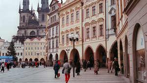 ساحة المدينة القديمة، براغ
