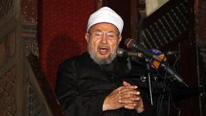 الإخوان تنعى عمر عبدالرحمن.. والقرضاوي: اختلفنا مع بعض أفكاره