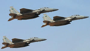 السعودية: اعتراض صاروخ باليستي مصدره اليمن وتدمير منصة إطلاقه