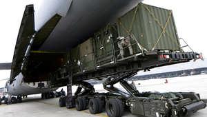 بعد اعتراضه لصارخ سكود يمني بطريقه للسعودية.. بالصور.. صواريخ باتريوت الأمريكية