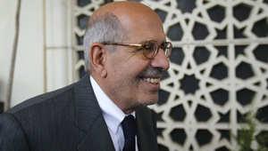 """البرادعي يدعو إلى مقاطعة الانتخابات البرلمانية المصرية.. ويعتبر الانسحاب """"نوعاً من القيادة"""""""