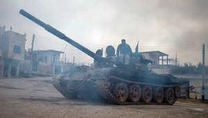 المرصد: جيش الفتح يسيطر على مدينة أريحا آخر معاقل الجيش السوري في إدلب