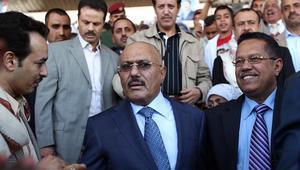 """صالح يدعو لتجنب """"المكايدات"""" مع الحوثيين.. ويطالب مصر والكويت بالانسحاب من التحالف العربي"""