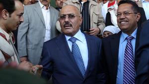 صالح: نمد أيدينا للتحالف مع إيران ضد العدوان.. ومستعدون لفتح قواعدنا العسكرية لروسيا لمحاربة الإرهاب