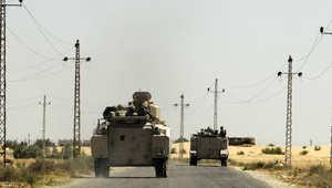 مصر: مقتل ضابط وعسكري وجرح 3 مجندين بانفجار عبوة ناسفة بالعريش