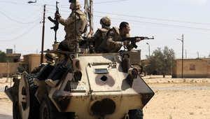 جيش مصر يرفع ضحاياه بسيناء السبت إلى 7 قتلى