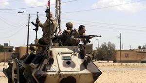 """الجيش المصري يعلن قتل 30 """"تكفيرياً"""" في شمال سيناء ضمن عملية """"حق الشهيد"""""""