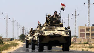 """الجيش المصري يعلن مقتل 134 """"إرهابياً"""" واعتقال 195 خلال 4 أيام من عملية """"حق الشهيد"""" في سيناء"""
