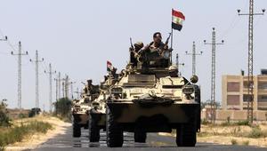 الجيش المصري: مقتل 4 عسكريين و20