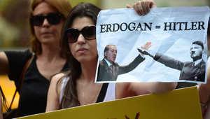 """أردوغان ينفي استشهاده بـ """"هتلر"""" في فاعلية الحكم الرئاسي.. ومسؤول تركي لـCNN: استخدمه كنموذج سيء"""