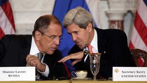 """كيري يلوح بإجراءات أمريكية وروسية للتعامل مع انتهاكات """"وقف الأعمال العدائية"""" بعيدا عن أعين الصحافة"""