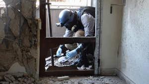 """منظمة حظر الأسلحة الكيماوية ترصد استخدام غاز الخردل في سوريا.. والمرصد: مقتل 27 مدنيا و15 """"داعشيا"""" في غارات روسية على الرقة"""
