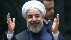"""روحاني مخاطبا """"المنافسين"""" بعد تنفيذ الاتفاق النووي: لا نشكل أي تهديد لشعب أو حكومة ونمد يد الصداقة للجميع"""