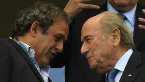 رئيس الاتحاد الأوروبي لكرة القدم: طلبت من جوزيف بلاتر رئيس الفيفا الاستقالة ولكنه رفض