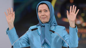 مريم رجوي تهاجم