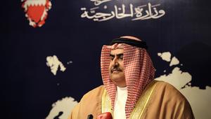 وزير خارجية البحرين: المتعاطف مع إرهابيي العوامية والبحرين والعراق واحد