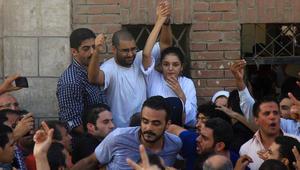 """القضاء المصري: البراءة لـ""""نظيف"""".. والسجن لـ""""سناء سيف"""""""