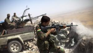 """تحرك آلاف عناصر البشمرغة في هجوم متعدد الجبهات ضد """"داعش"""" بالعراق"""