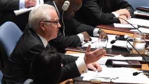 تقارير: مبعوث روسيا ووزير خارجية أوكرانيا يتصافحان في نهاية جلسة لمجلس الأمم المتحدة بشأن الأزمة الأوكرانية