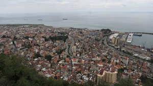 منظر عام لمدينة طرابزون في تركيا