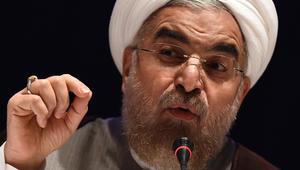 """حسن روحاني: مراقد أهل البيت """"خط أحمر"""".. وهدف الثورة الإسلامية ترويج الأخلاق الطيبة"""