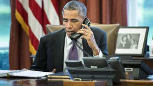 أوباما يشكر بوتين على دور روسيا في اتفاق إيران