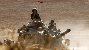 """تركيا تقصف """"داعش"""" والحزب الكردي بشمال سوريا"""