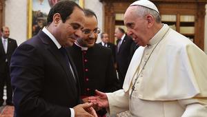 البابا فرنسيس يزور القاهرة في الذكرى الـ70 للعلاقات بين مصر والفاتيكان