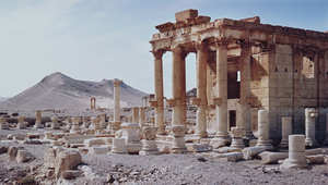 """سوريا: """"داعش"""" يدمر معبد """"بعلشمين"""" في تدمر"""