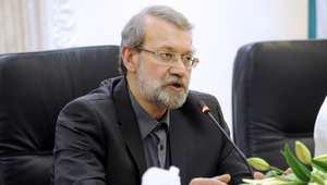"""لاريجاني: أمريكا تريد """"وضع يدها على أموال إيران بذرائع خاطئة"""" وستسمع الرد على هذا الإجراء"""