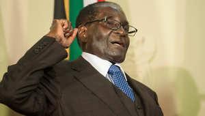 """هل سمعت عن آخر ما أضحك شعب زيمبابوي بأكمله؟ خطاب مكرر بـ """"الخطأ"""" من رئيس """"مسن"""""""