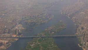 صورة أخذت في 19 أبريل 2015 تظهر لقطات جوية لجزء من العاصمة المصرية، القاهرة