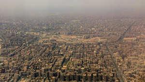 صورة جوية للعاصمة المصرية القاهرة