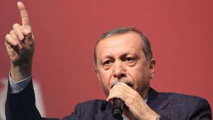 أردوغان: داعش يثير الفوضى في سوق النفط.. والتنظيم أعطى العالم درسا كبيرا في سوريا