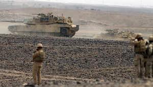 مناورات مشتركة بين الأردن والولايات المتحدة بالقرب من الحدود مع السعودية