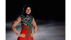 الإماراتية زهراء لاري.. زهرة ثلجيّة تنمو في الصحراء