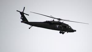 مروحية عسكرية أمريكية تتحطم قرب سواحل اليمن