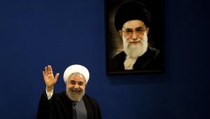 """المعارضة الإيرانية: فوز روحاني """"هزيمة نكراء"""" لخامنئي ومؤشر لـ""""نهاية ولاية الفقيه"""""""