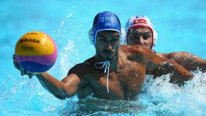 لعبة الكرة المائية  بدورة الألعاب الأوروبية 2015 المقامة في مدينة باكو