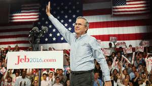 جيب بوش يعلن انسحابه من سباق الرئاسة الأمريكية