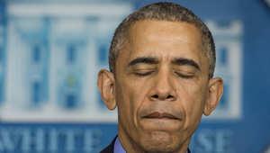أوباما يتحدث في البيت الأبيض حول حادثة إطلاق النار على الكنيسة