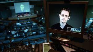الموظف السابق بوكالة الأمن القومي، إدوارد سنودن