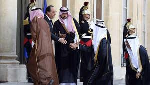 زيارة محمد بن سلمان لباريس