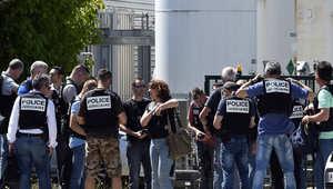 الرئيس الفرنسي: تفجير مصنع ليون عمل إرهابي بحت
