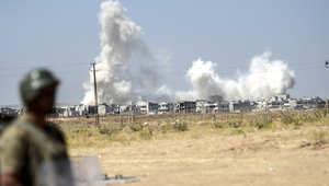 """""""داعش"""" يتسلل إلى كوباني .. والمرصد السوري: 174 قتيلاً في ثاني أكبر """"مجزرة"""" للتنظيم في سوريا"""